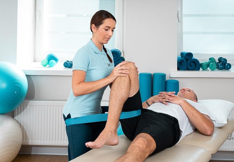 Nuotolinis kineziterapijos užsiėmimas